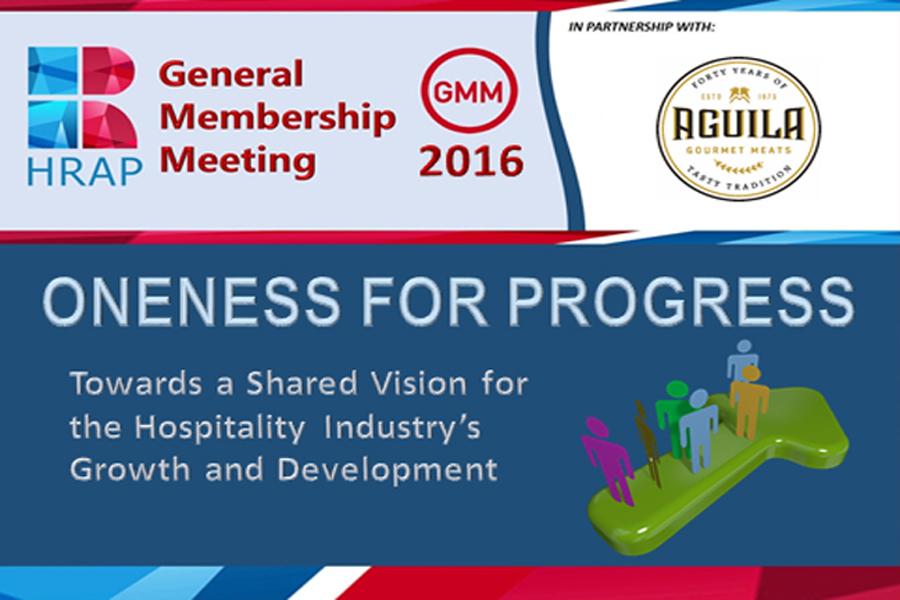 General Membership Meeting 2016 -