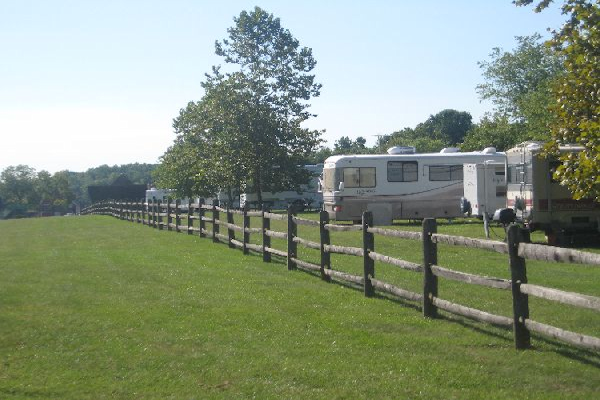 RV/TENT SITE Learn More →