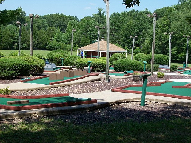 Wilderness Presidential Resort Mini-Golf