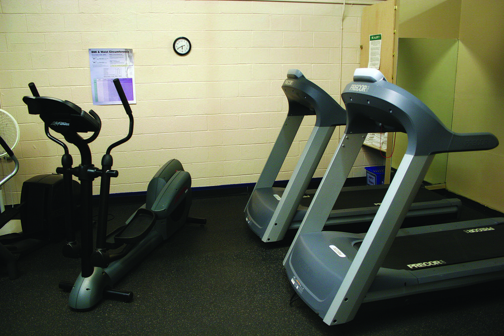 Wilderness Presidential Resort Fitness Room