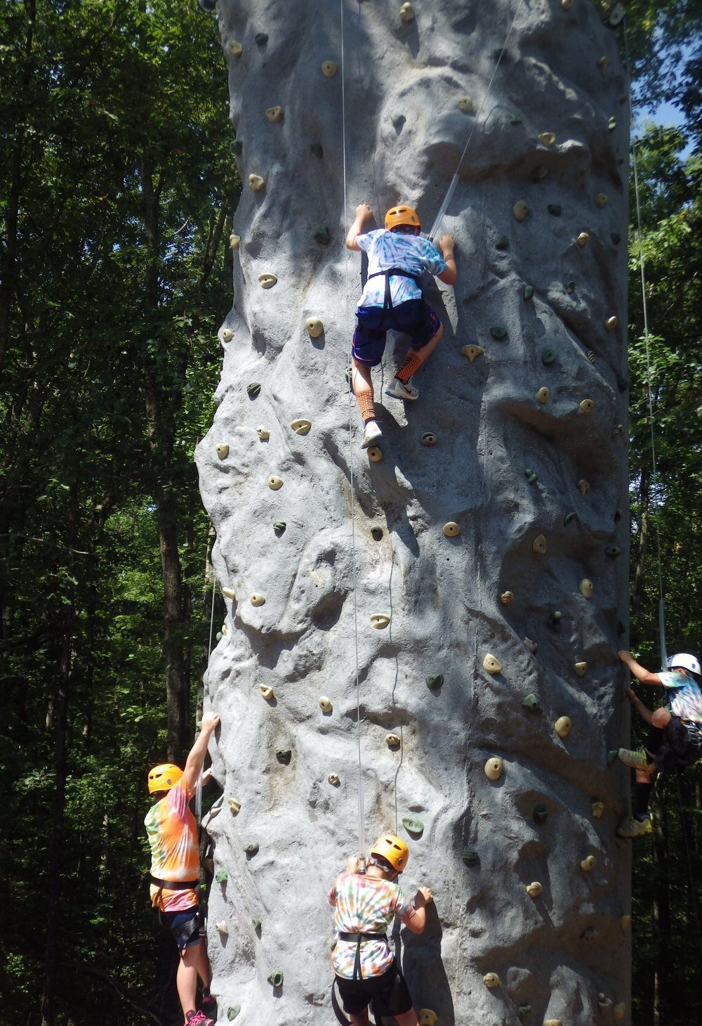 Wilderness Presidential Resort Climbing Wall