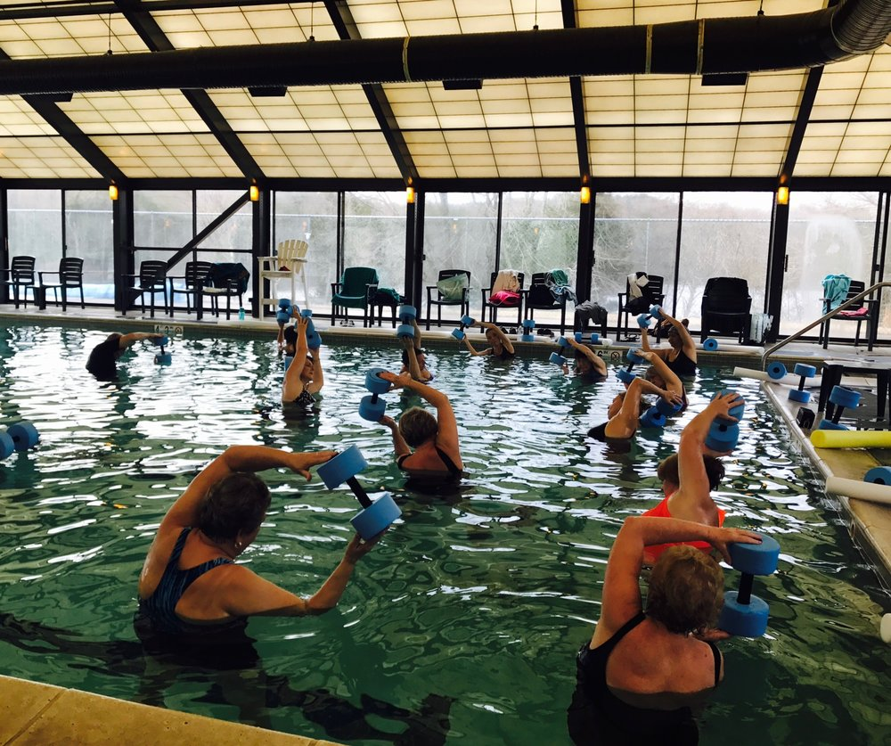 Water Aerobics offered Mondays, Wednesdays, Fridays 10 a.m. & 11:15 a.m. - $5/person per class