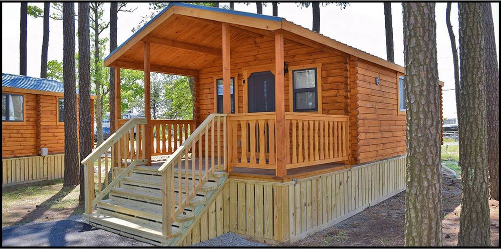 NEW Camp Cottages are coming in 2018! We are so excited to introduce these new luxurious units. Stay tuned to our website and Facebook for more details as they become available.