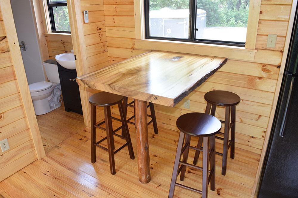 Camp Cottage interior