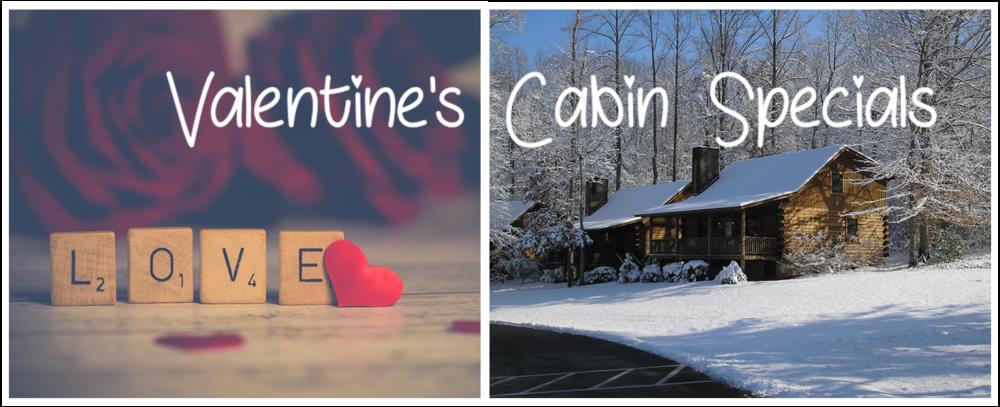 Valentine's Cabin Specials