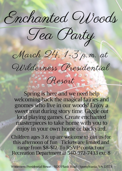 Enchanted Woods Tea Party