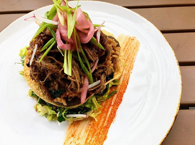 It's #thirstythursday y'all! So while you're sipping on some half priced drinks check out our menu (like our braised brisket tostada) . . . #bacdup #northshoreeats #followyournola #covlove #covingtonla #foodstagram #foodporn #happyhour #lanorthshore #tammanytaste