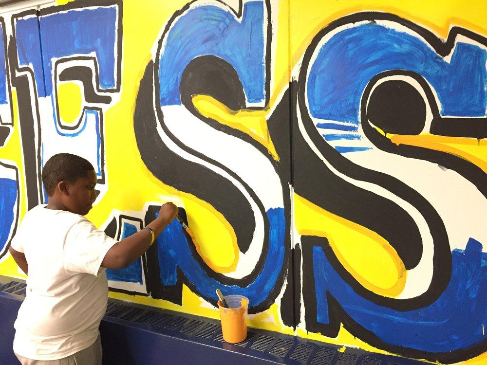 Student Painting Mural.JPG