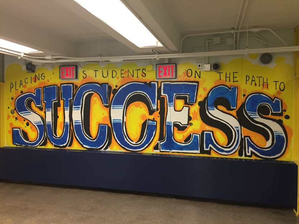 Village Academy Success Visual Art Mural