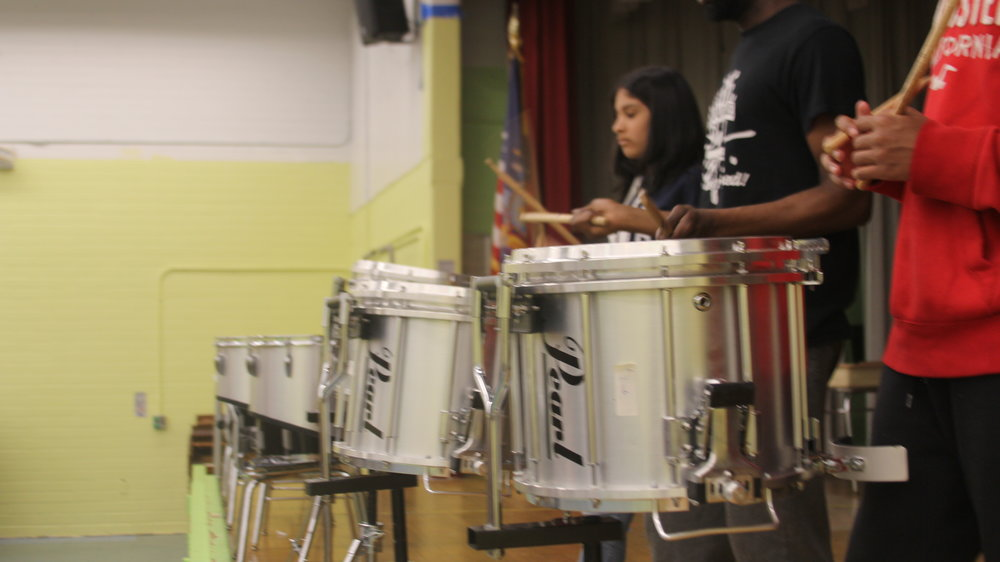 I WILL GRADUATE Drumline Program
