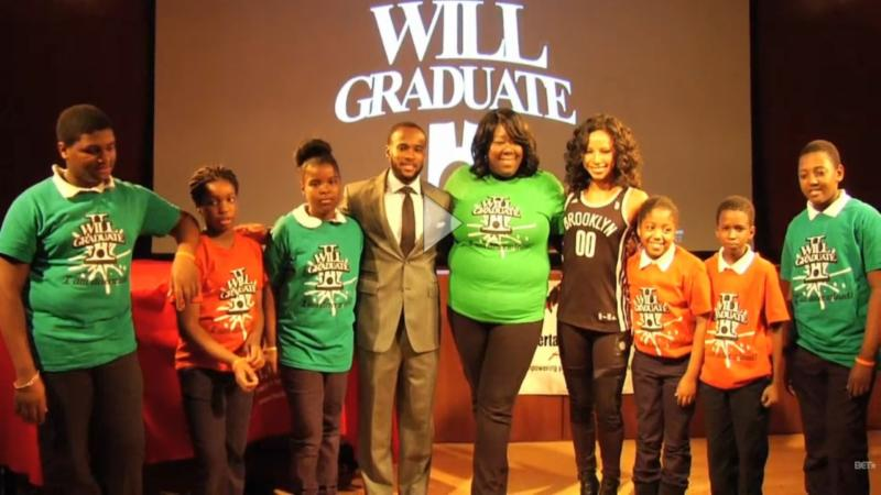 Click image above to watch I WILL GRADUATE - BET Interview