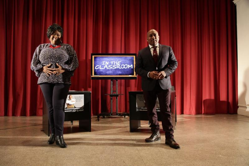 Executive Director Tonya Lewis Taylor with ABC's SHARK TANK Daymond John..jpg