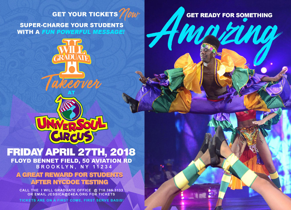 I WILL GRADUATE Universoul Circus