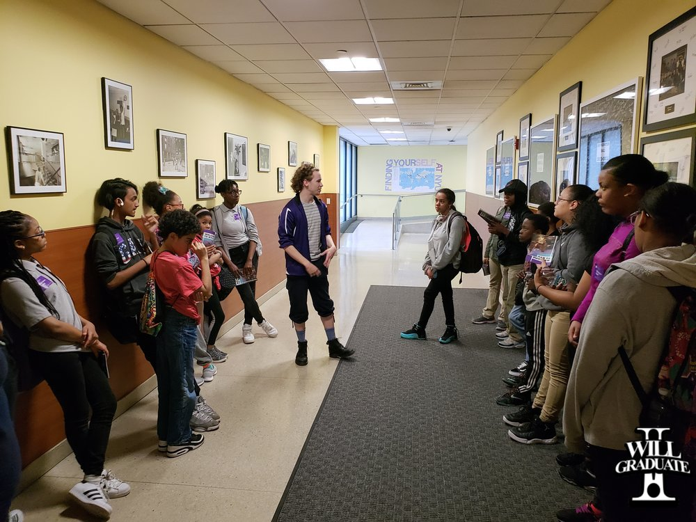 Collaborative Arts Middle School Tours Visits NYU