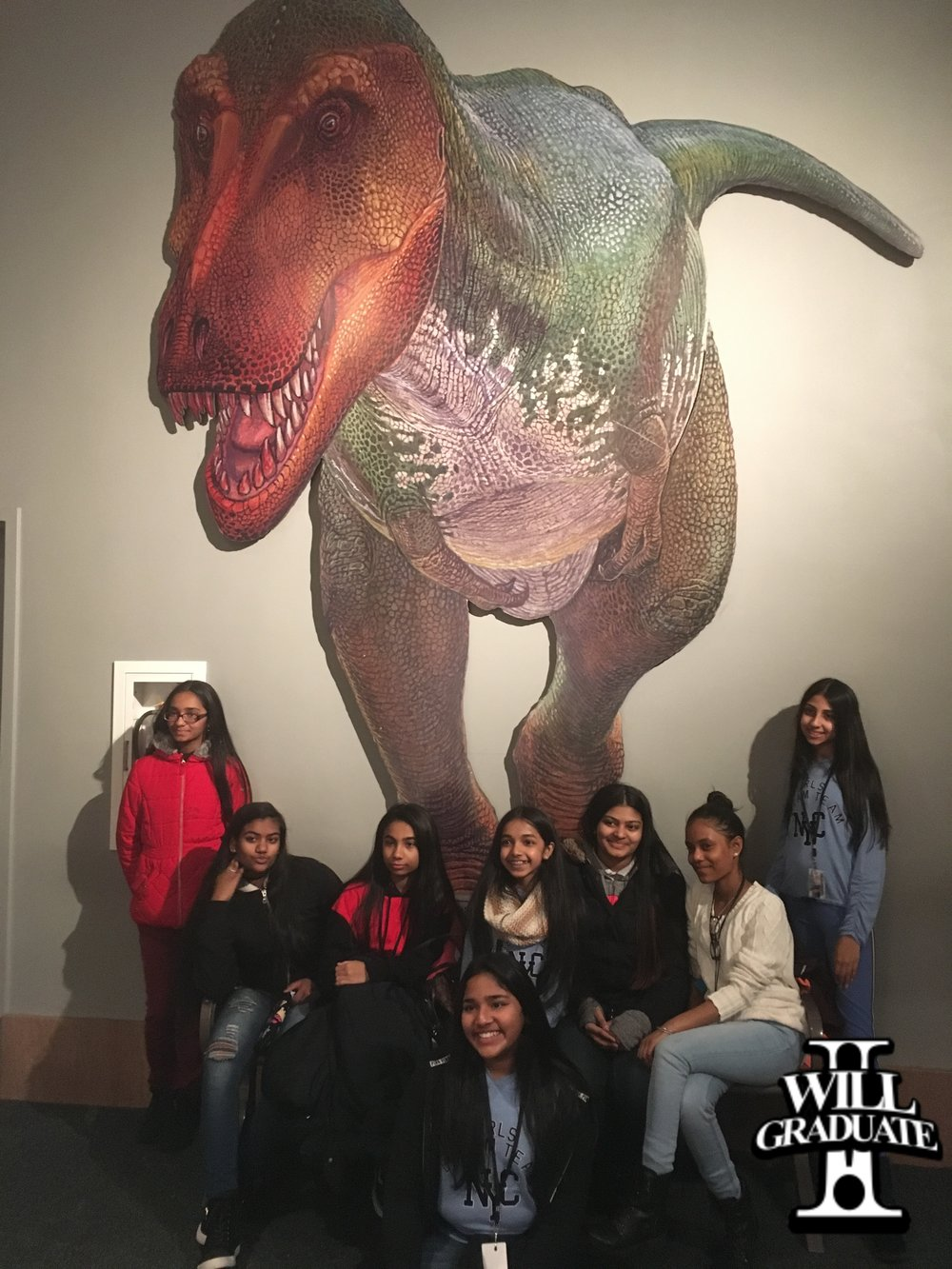 MS 226 Visits Museum of Natural History
