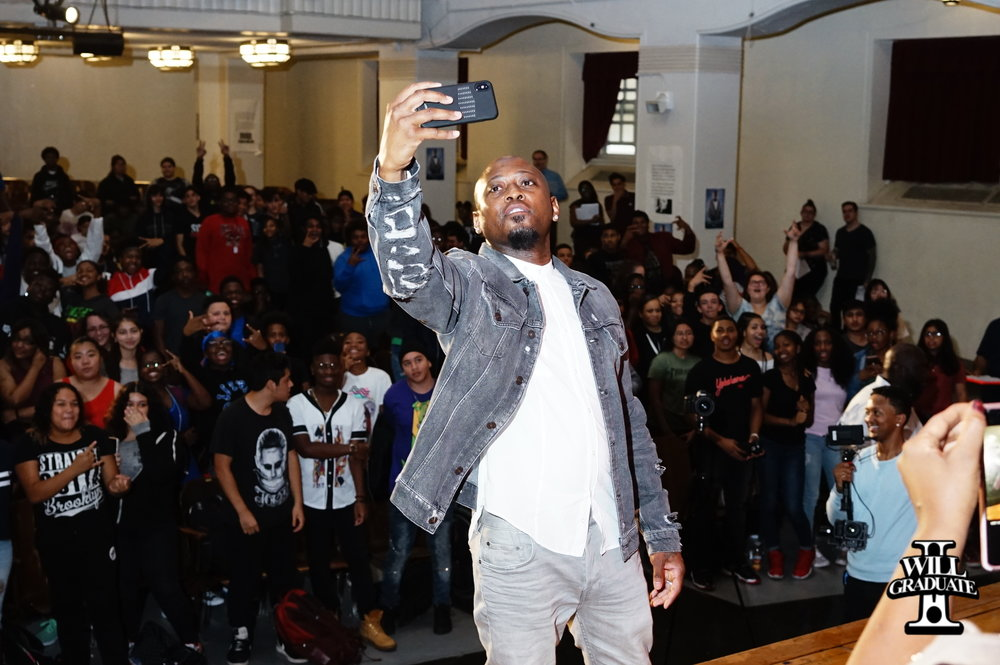 255 Epps takes selfie with students.jpg