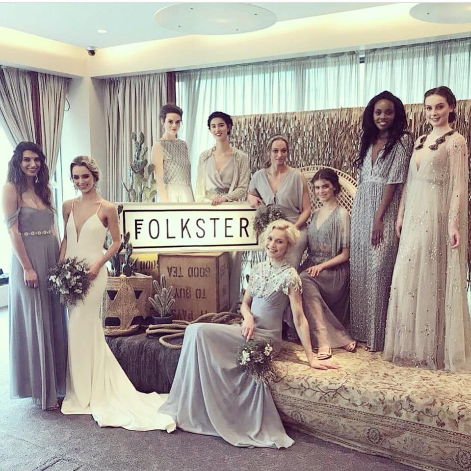 April was a busy month as I worked with Folkster for 3 showcases showcasing their latest designs and collections for 2018.   The first show took place in the Clayton Hotel in Cork, and the 2 Dublin showcases took place in the Morrisson.  All shows were a sell out and they went down a storm.  I was so delighted to be part of the shows, alongside me doing the hair was Joan of Inch Hair Design, and we just had an absolute blast!!!!  Sharing some of the images and gorgeous dresses with you below.....