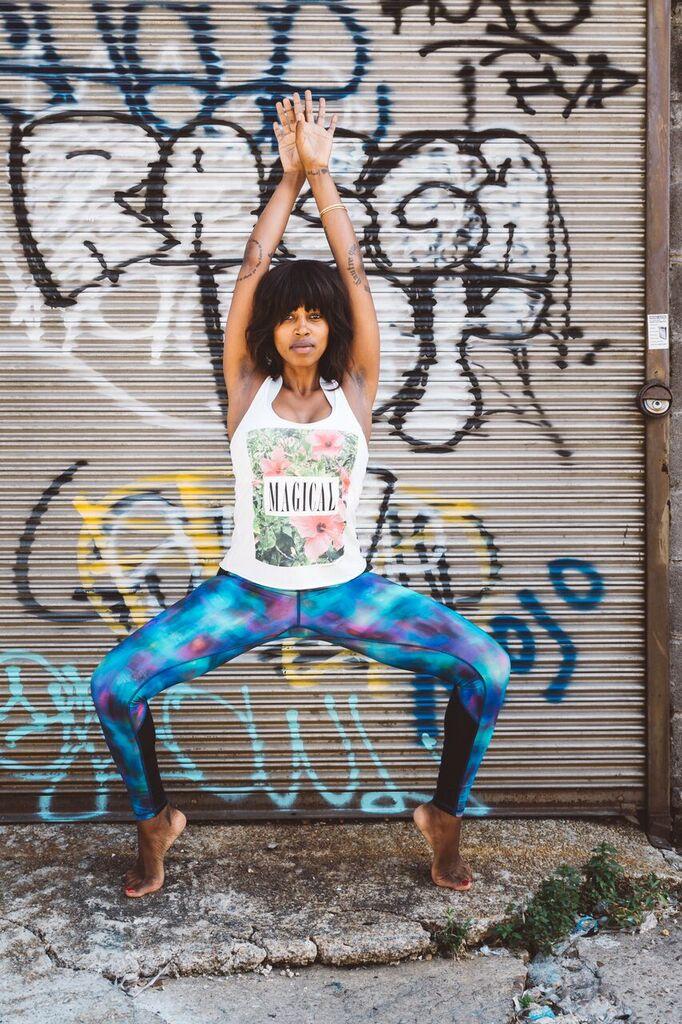 Nya of @YogaWithNya