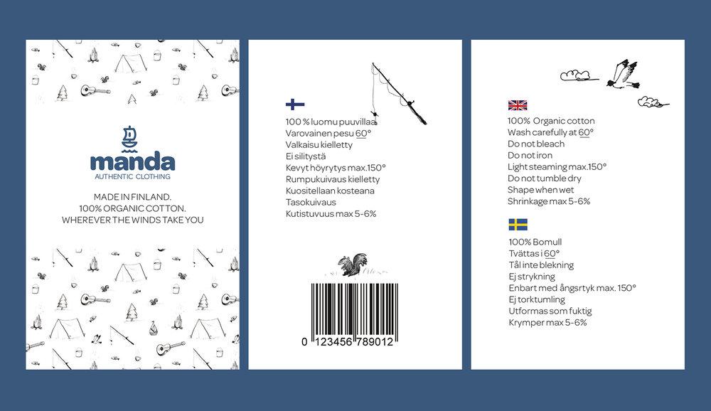 manda_riippulappu_vaatemallisto-tuotelappu-graafinen-suunnittelu-suomalainen-lastenvaate-tekstiili-mainostoimisto-viivakoodi-lintu-ruotsinkielinen-kollaasi.jpg