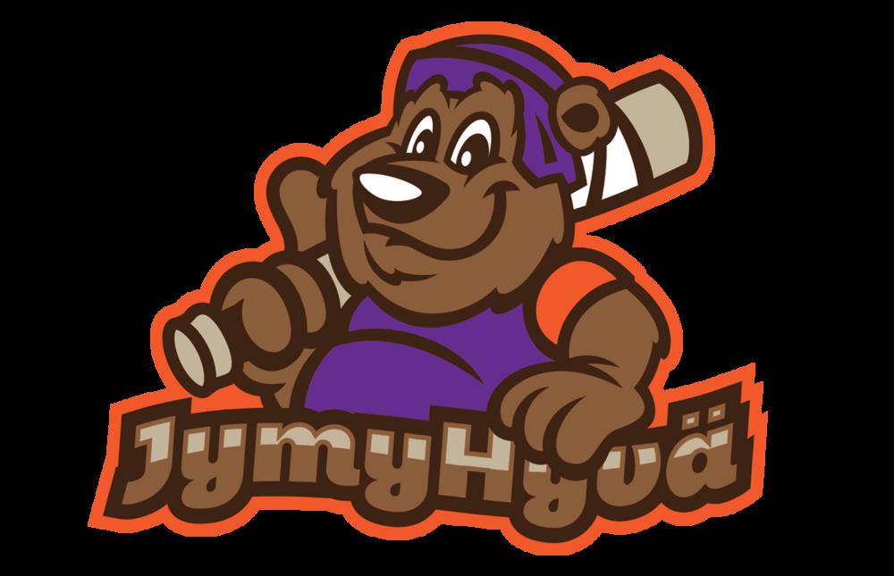 Sporttihenkinen tapahtumatunnus JymyHyvä -konseptille, joka kerää varoja lapsille ja nuorille.