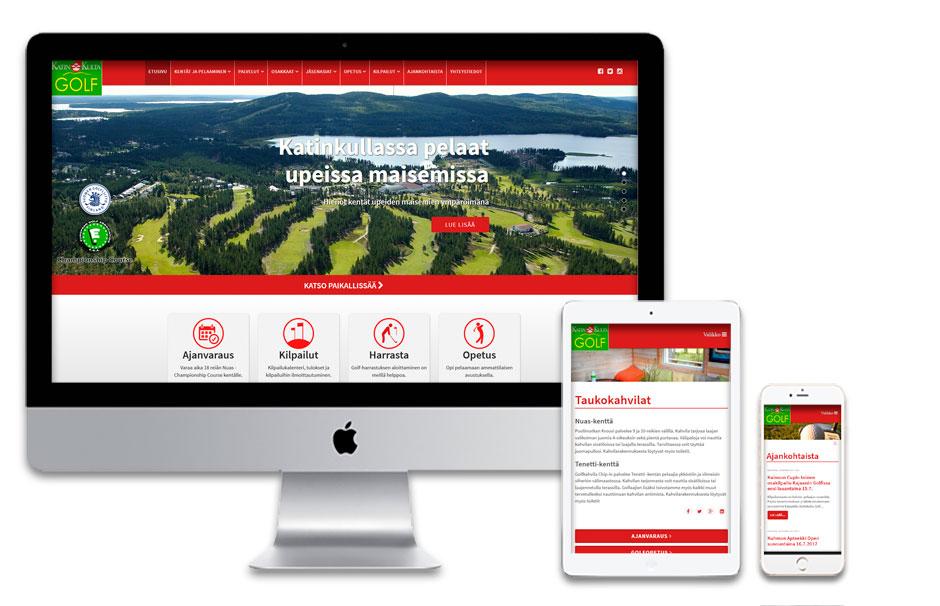 NYKYAIKAISET VERKKOSIVUT vastaamaan nykyajan tarpeita ja pieniä laitteita. Skaalautuvat verkkosivut yrityksen ilmeellä ja perustiedoilla   alk. 800 eur (+alv)