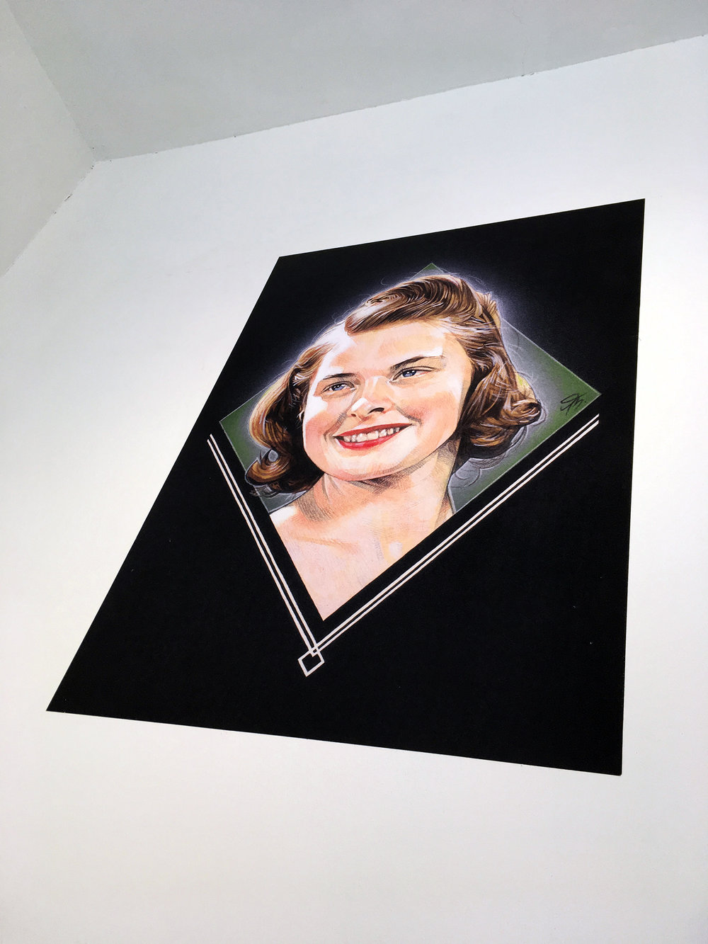Ingrid Bergman at  Crowd Show , NN Contemporary