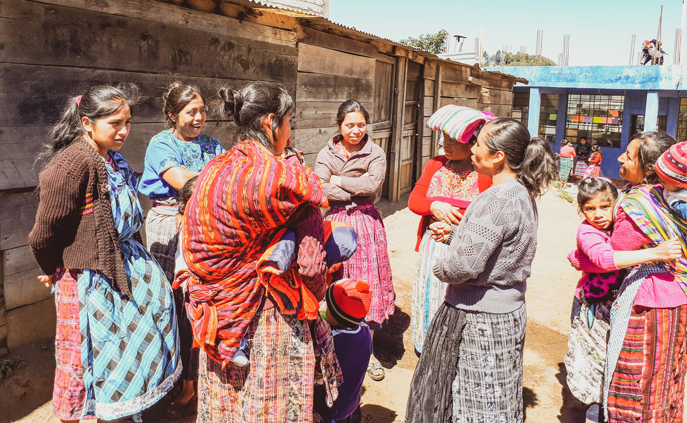 Women's Circles - To carry out a transformative process of empowerment, we organize ourselves into women's groups.