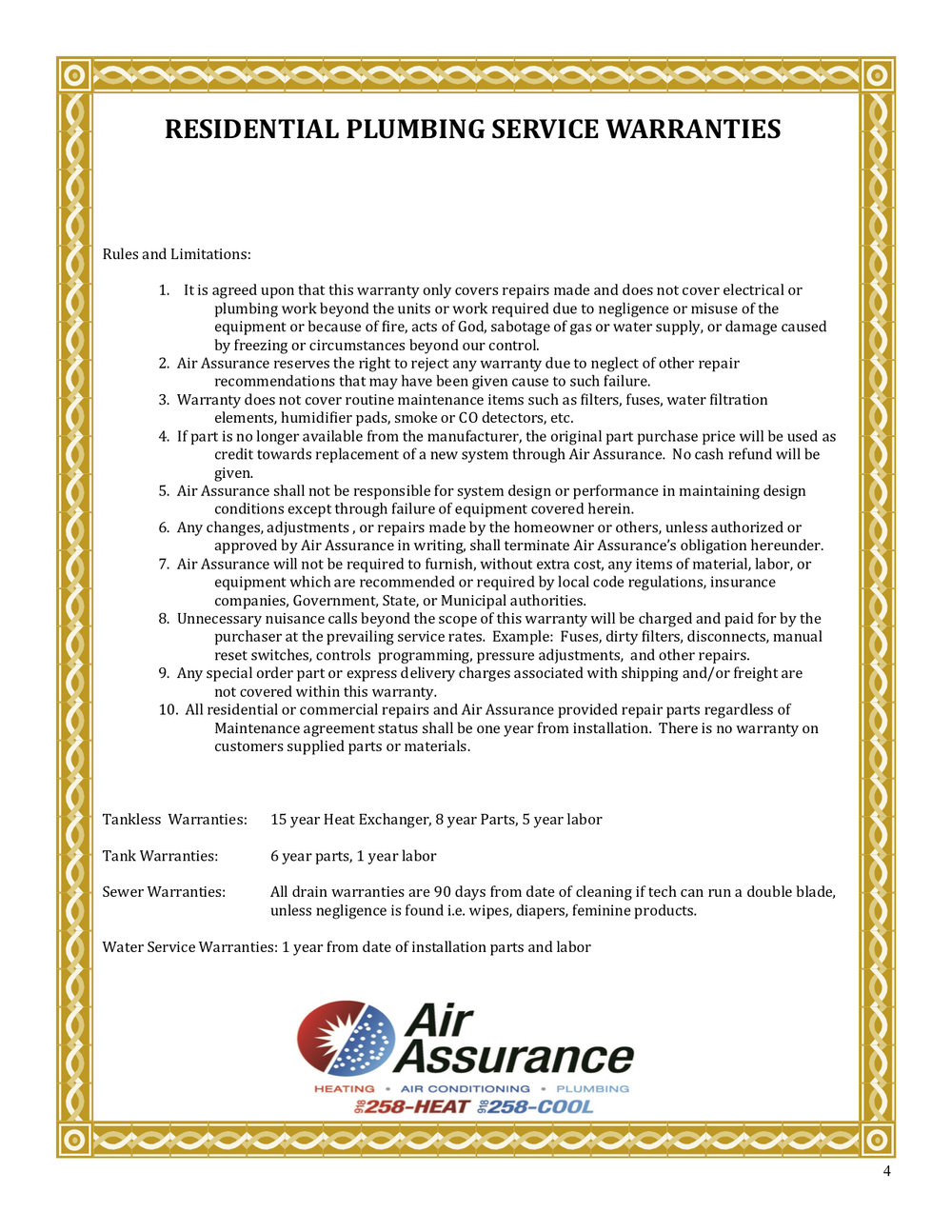 Residential Plumbing Service Warranties.jpg