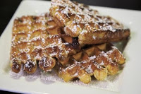 image of Sweet Iron Waffles courtesy Seattle Mariners
