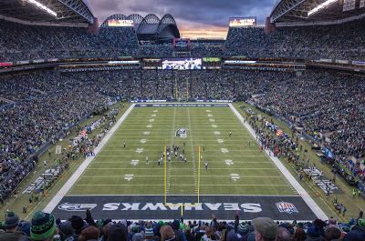 "image ""Seahawks v Rams"" sourced through Creative Commons, from Aime Ayers' Flickr account"