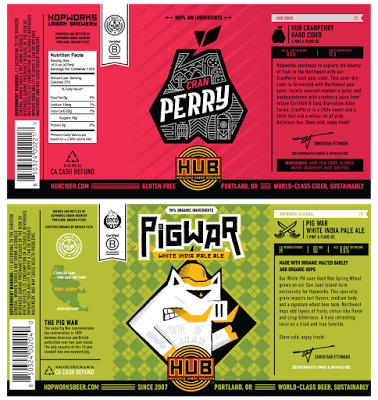 image courtesy Hopworks Pig War White IPA