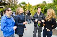 Photo: Guests enjoying a cold beer outside at Woodland Park Zoo's Brew at the Zoo event.  Credit: Ryan Hawk/Woodland Park Zoo