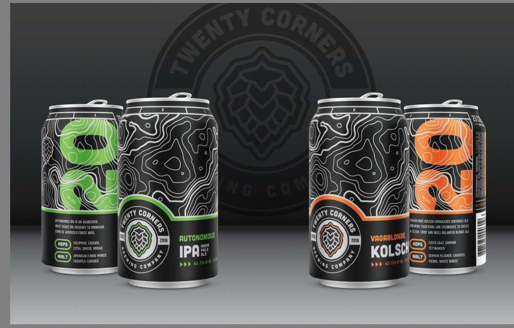 image courtesy 20 Corners Brewing Company