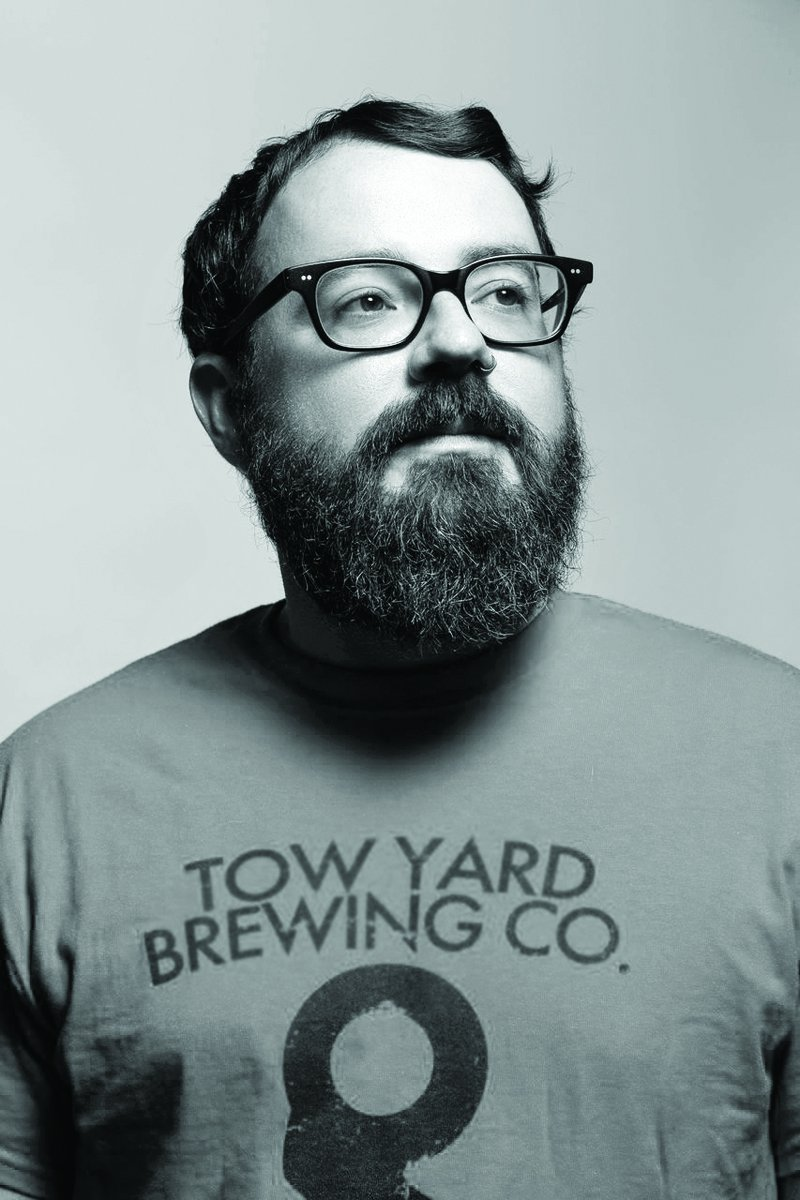 Bradley Zimmerman  then head brewer at Tow Yard Brewing, featured in the article  The Right Scruff: Best Beards in the Indy Beer Scene   Photo by Tony Valainis and used with permission from the  Indianapolis Monthly