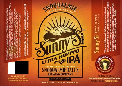 image courtesy Snoqualmie Falls Brewery