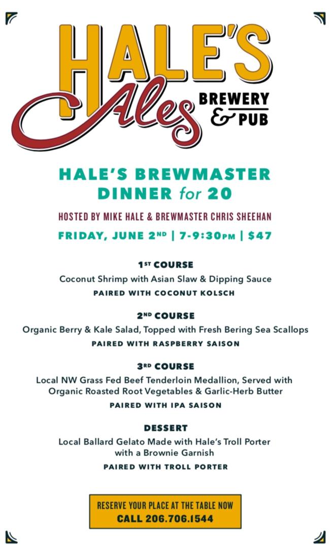 image courtesy Hale's Ales