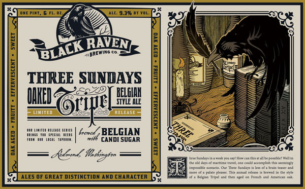image courtesy Black Raven Brewing Company
