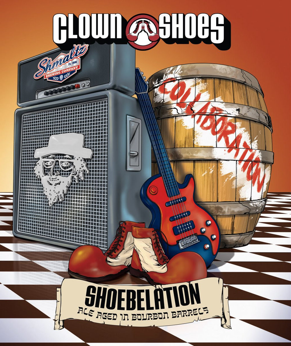 image courtesy Shmaltz Brewing Company and Clown Shoes Beer