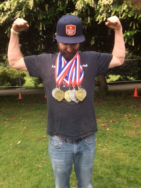 image of Brewer Rick Burns courtesy Chuckanut Brewery and Kitchen