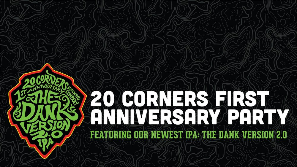 image sourced from 20 Corners Brewing Company