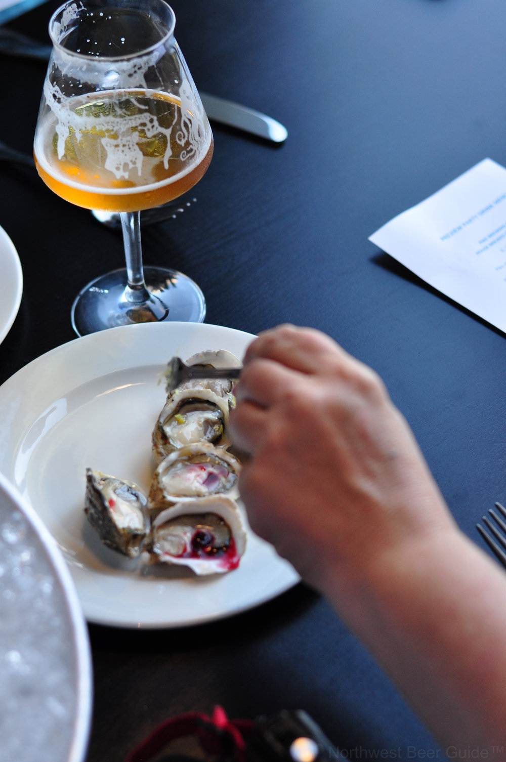"""There's more than one way to enjoy an oyster."