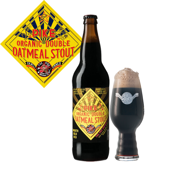 Imitation being the most flattering, Pike Brewing releases Organic Double  Oatmeal Stout. Inspired from. Press Release