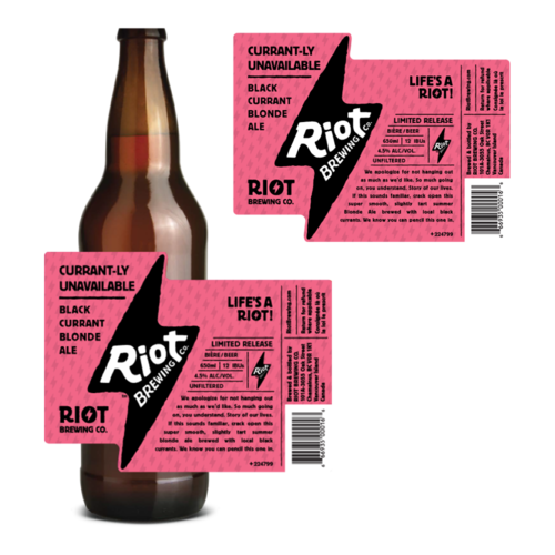 image sourced from Riot Brewing Company