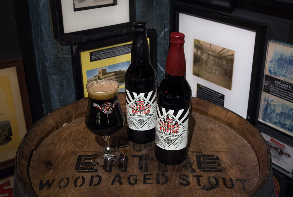 Released November 3rd, Pike serves up this year's Entire bourbon barrel  aged imperial stout.