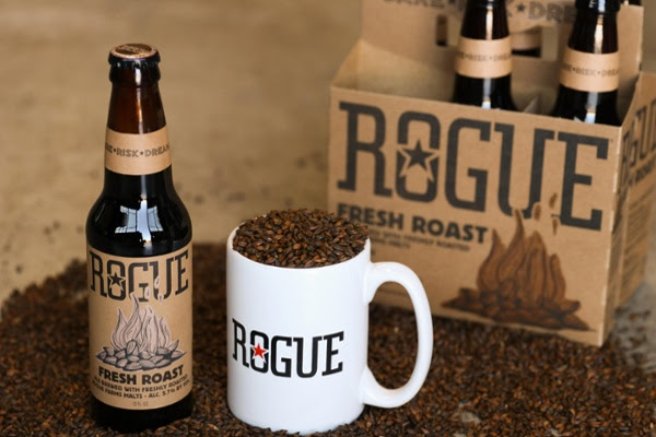 Rogue Ales grows, roasts and brews its own barley, all under one roof.