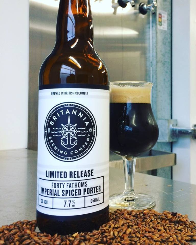 image sourced from Brittania Brewing's Facebook page
