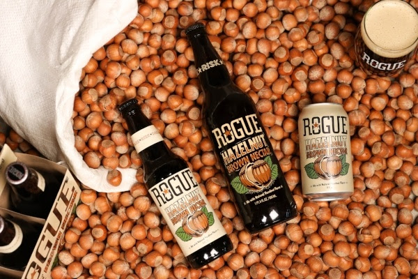 image of Rogue Hazelnut Brown Nectar, courtesy Rogue Ales & Spirits