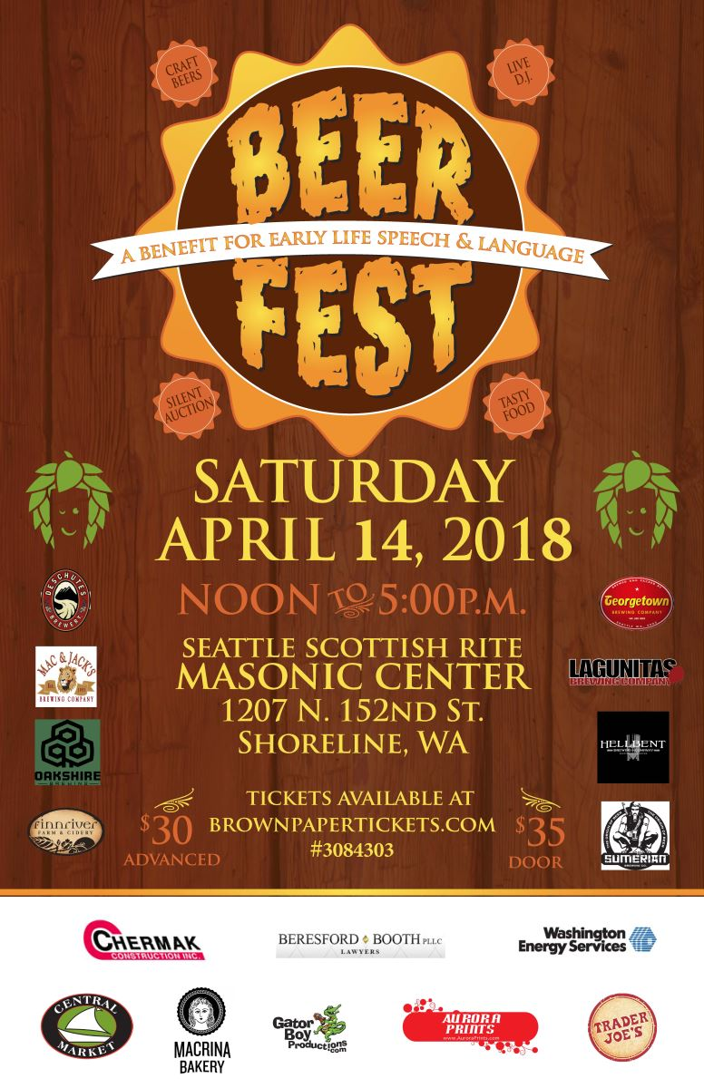 image courtesy Seattle Beer Fest 2018 organizers