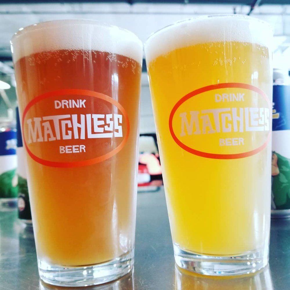 """... On the right, the beer as it should appear, on the left the oxidized, stale beer that we are seeing out in the world."" -image sourced from Matchless Brewing Instagram account"