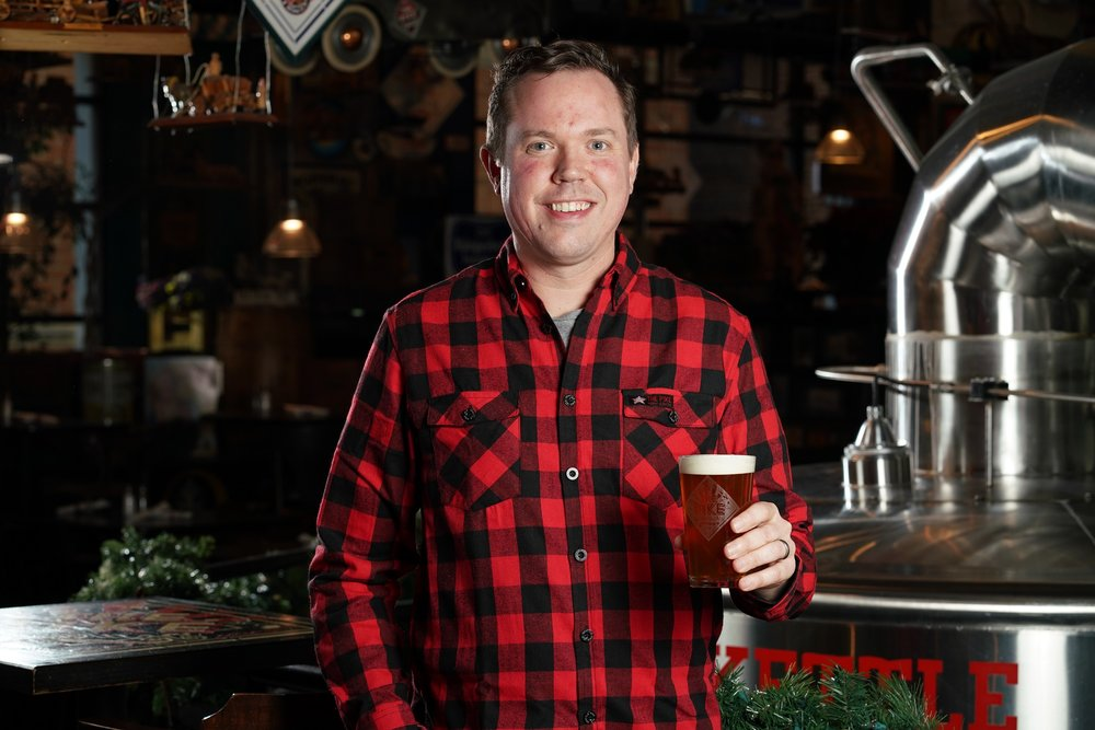 Drew Gillespie, Owner & Vice President Operations of Pike Brewing Co.